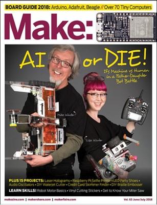 Make - Volume 63 Mike Senese 9781680455199