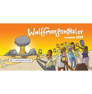 Wulffmorgenthaler Kalender 2019 Af Mikael Wulff Anders Morgenthaler