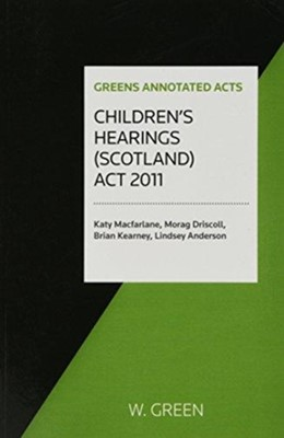 Children's Hearings (Scotland) Act 2011  9780414035355