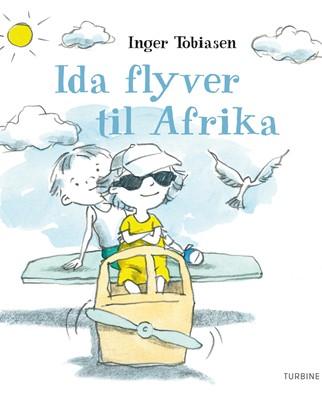Ida flyver til Afrika Inger Tobiasen 9788740623352