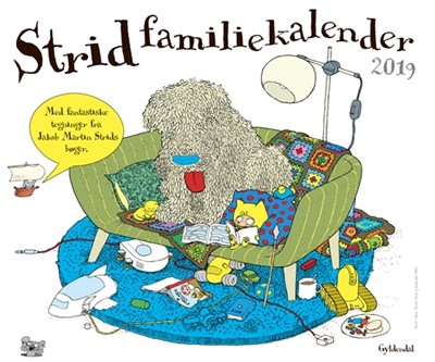 Strid Familiekalender 2019 Jakob Martin Strid 9788702265750