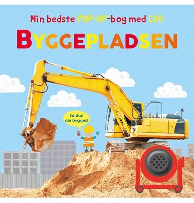 Min bedste pop-op-bog-bog med lyd: Byggepladsen  9788772050744