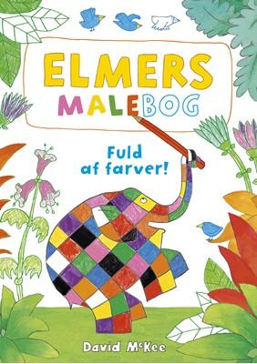 Elmers malebog David McKee 9788772051185