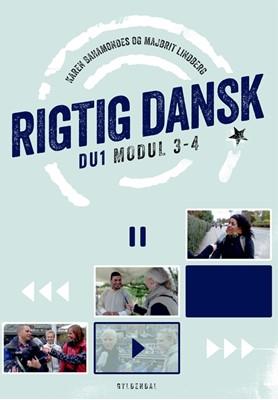 Rigtig dansk til DU1 Karen Christensen Bahamondes, Majbrit Lindberg 9788702244069