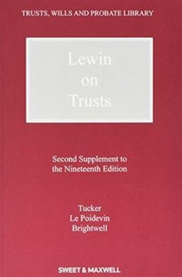 Lewin on Trusts James Brightwell, Lynton Tucker 9780414024373