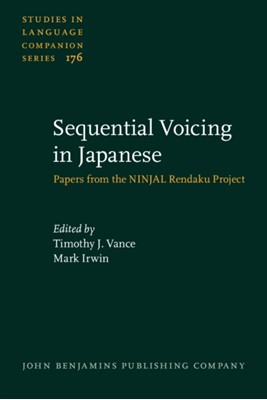 Sequential Voicing in Japanese  9789027259417