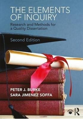The Elements of Inquiry Sara (Edgewood College Jimenez Soffa, Peter J. (Edgewood College Burke 9780815362883