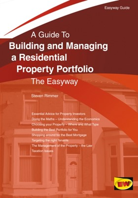 Building And Managing A Residential Property Portfolio Steven Rimmer 9781847168023