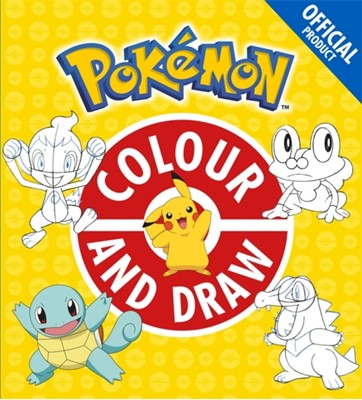 The Official Pokemon Colour and Draw Pokemon 9781408354766