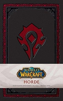 World of Warcraft: Horde Hardcover Ruled Journal. Redesign Insight Editions 9781683833260