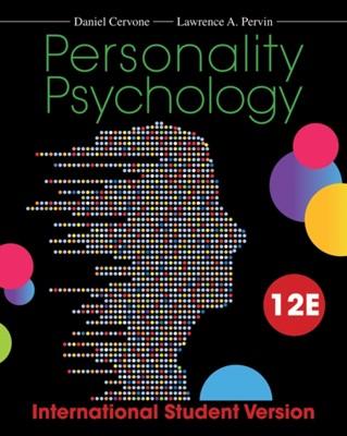 Personality Psychology Daniel Cervone, Lawrence A. Pervin 9781118322215