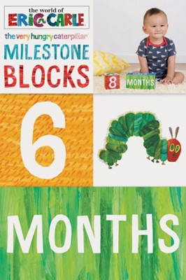 The World of Eric Carle (TM) The Very Hungry Caterpillar (TM) Milestone Blocks Eric Carle 9781452165363