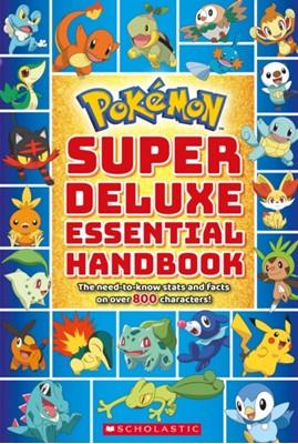 Pokemon: Super Deluxe Essential Handbook Scholastic 9781338230895