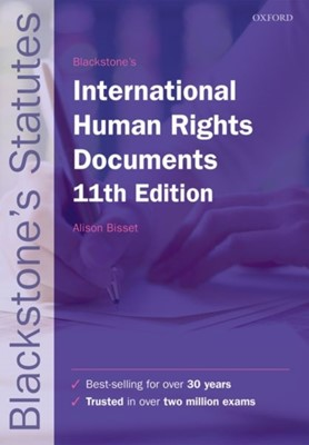 Blackstone's International Human Rights Documents  9780198818571
