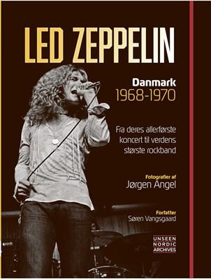 Led Zeppelin - Danmark 1968-1970 Søren Vangsgaard 9788797078006
