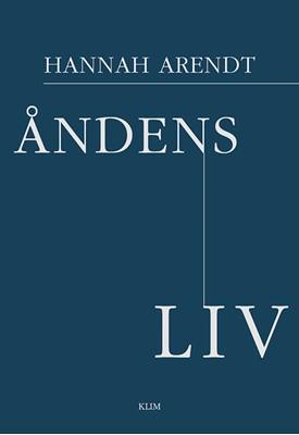 Åndens liv Hannah Arendt 9788772042022
