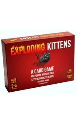 Spil - Exploding Kittens  3558380050926