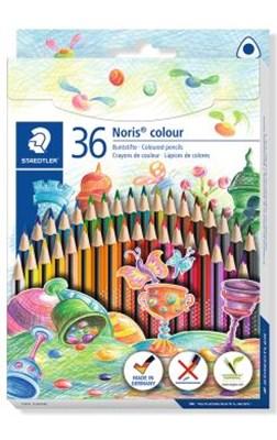 STAEDTLER Noris colour trekantede miljøfarveblyanter, 36 stk.  4007817028384