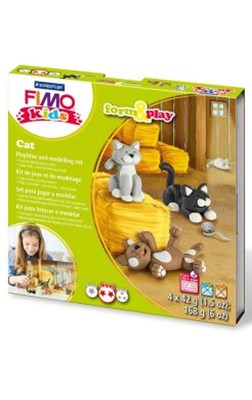 "FIMO kids sæt, ""Cat""  4007817032596"