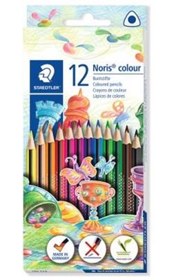 STAEDTLER Noris colour trekantede miljøfarveblyanter, 12 stk.  4007817037218