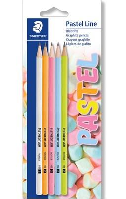 STAEDTLER Pastel line blyanter, 5 stk.  4007817039694