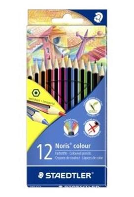 STAEDTLER Noris colour miljø farveblyanter, 12 stk. i papetui  4007817185124