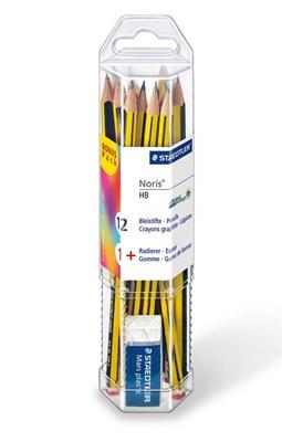 STAEDTLER Noris skoleblyanter i plast beholder  4007817611265
