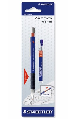STAEDTLER Mars micro pencil, 0,5 mm med stifter  4007817709245