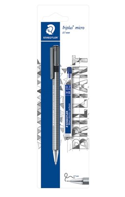 STAEDTLER Triplus micro pencil, 0,7 mm med stifter  4007817774199