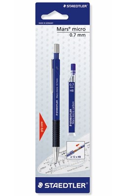 STAEDTLER Mars micro pencil, 0,7 mm med stifter  4007817776605