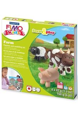 "FIMO Kids sæt, ""bondegård""  4007817806012"