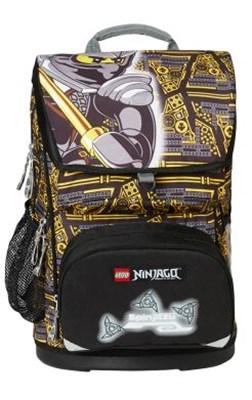 Skoletaske - LEGO Ninjago Cole, Maxi  5711013040505