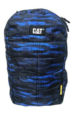 CAT Rygsæk, Benji Camouflage sort/blå  5711013048587