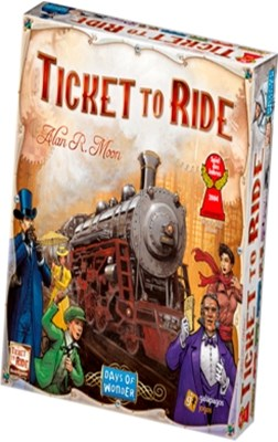 Spil - Ticket to Ride  5713662005010