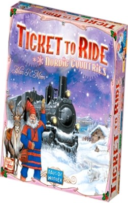 Spil - Ticket to Ride Nordic  5713662005034