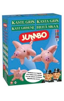Spil - Kaste Gris Jumbo  7350065321583
