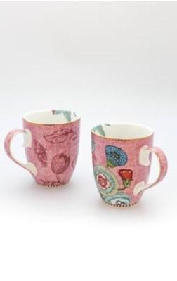 PIP Studio - Krus, 2-pak Pink Spring to Life  8718924018149