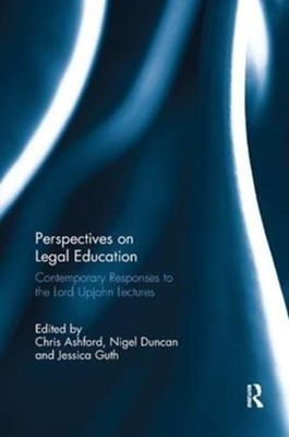 Perspectives on Legal Education  9781138614512