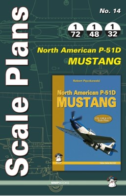 Scale Plans No. 14: North American P-51D Mustang  9788363678654