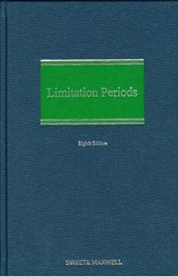 MCGEE: LIMITATION PERIODS E8 Professor Andrew McGee 9780414068322