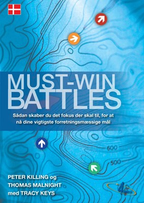 Must-Win Battles Peter Killing, Thomas Malnight, Tracey Keys 9788799333943