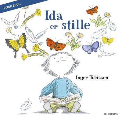 Ida er stille Inger Tobiasen 9788740620979