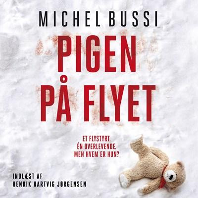 Pigen på flyet Michel Bussi 9788772001852