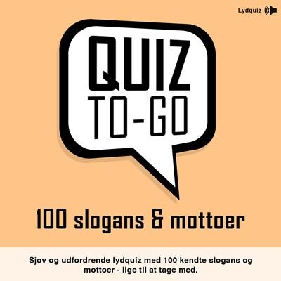 Lydquiz: 100 slogans og mottoer Anders Jensen-Thomsen 9788799573066