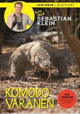 Læs med Sebastian Klein: Komodovaranen Sebastian Klein 9788711805305