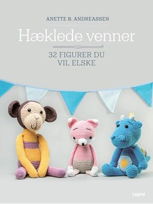 Hæklede venner Anette B. Andreassen 9788771554427