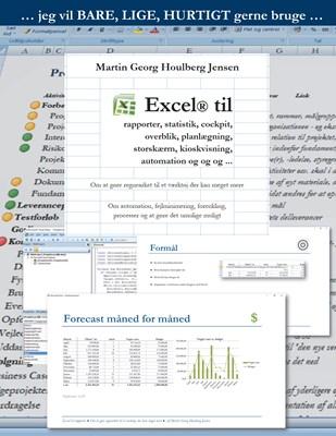 Excel til rapporter ... Martin Georg Houlberg Jensen 9788799908264