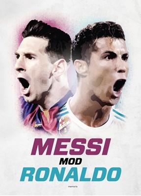 Messi mod Ronaldo Michael Jepsen 9788799995783