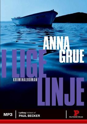 I lige linje Anna Grue 9788740033922