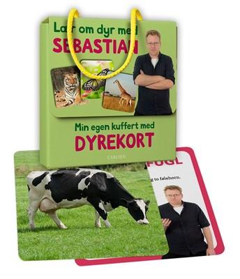 Min egen kuffert med dyrekort - Lær om dyr med Sebastian Klein Sebastian Klein 9788711699430